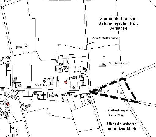 2014-03 Bplan Nr. 3 Dorfstraße, Hemsloh©Samtgemeinde Rehden